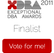 Exceptional DBA Awards 2011 - Vote