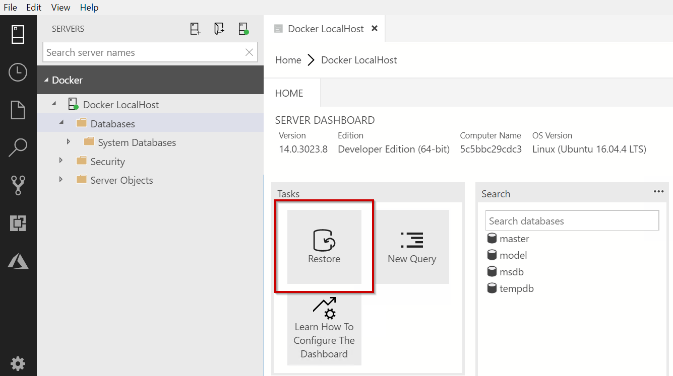 Creating a Power BI demo environment with SQL Server 2019 on